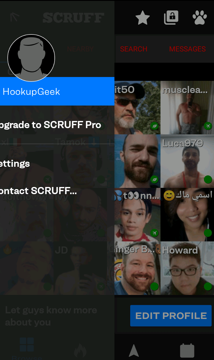 SCRUFF site review