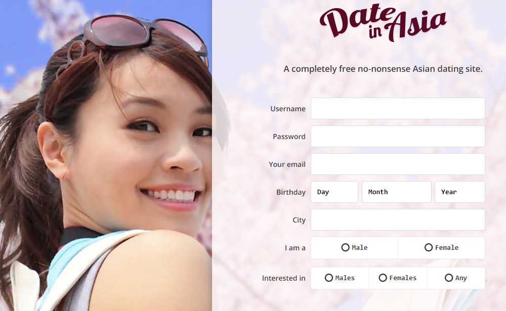 signup date in Asia